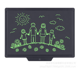 black 20 inch LCD writing tablet